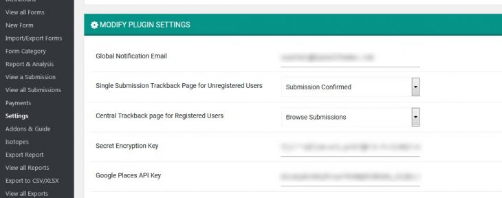 Configuring-Trackback-Page