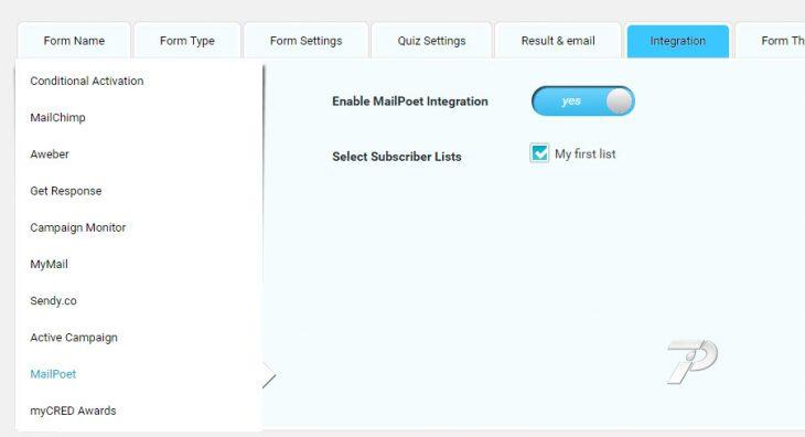 MailPoet-Integration
