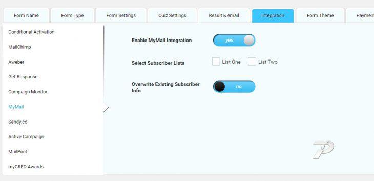 MyMail-Settings