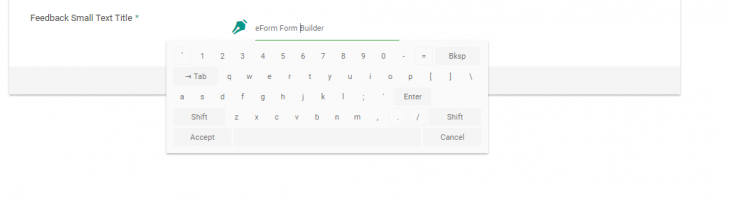 Keyboard preview