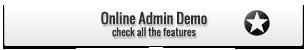 Online Admin Demo