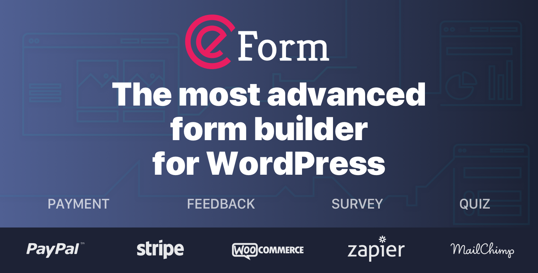 Buy eForm - WordPress Form Builder